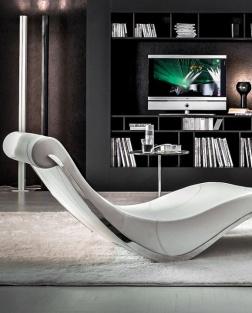 Chaise longue Sylvester Cattelan Italia